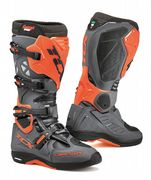 TCX Comp Evo Michelin Offroad Boots Dark Grey/Orange